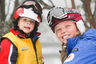 Ski School Magic Forest Monday Morning
