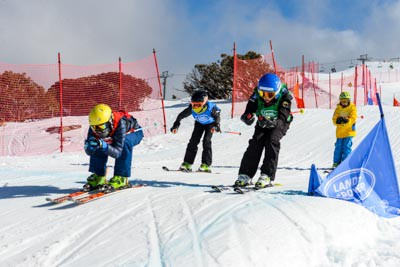 King of the Mountain Skier X Heats to Finals