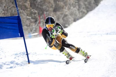 Division 1 Boys Alpine GS Action (BIB 175-239)