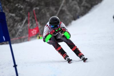 Division 1 Boys Alpine GS Action (BIB 121-175)