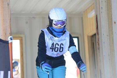 Division 2 Girls Alpine Gate (BIB 500-407)