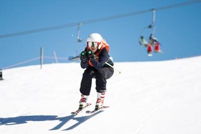 Division 1 Girls Ski Cross (Bib 1-60)