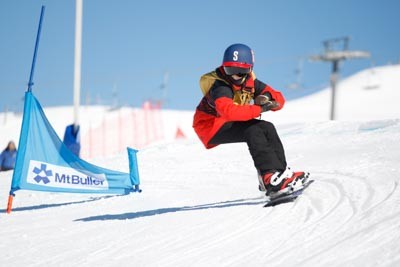 Division 3 Girls & Boys Snowboard Cross Final