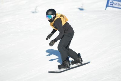 Division 3 Boys Snowboard Cross