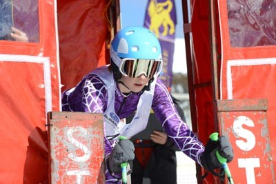 Division 3 Girls Alpine GS Gate Shots (Bib 120-1)
