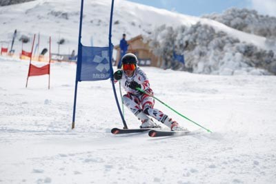 Division 2 Boys Alpine GS Action (Bib 680-593)