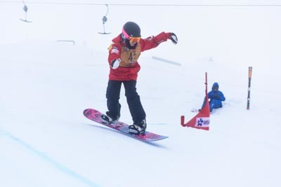 Division 4 Girls Snowboard Cross