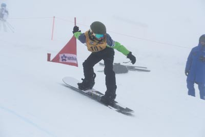 Division 4 Boys Snowboard Cross