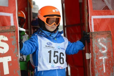 Division 6 Boys Alpine GS Gate Shots (BIB 192-151)