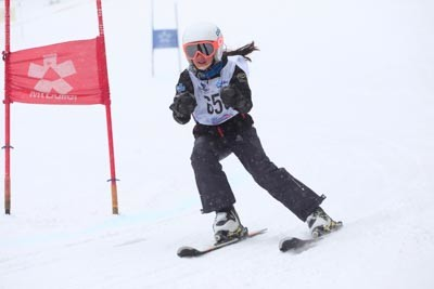 Division 4 Girls Alpine GS Action Shots (BIB 659-520)