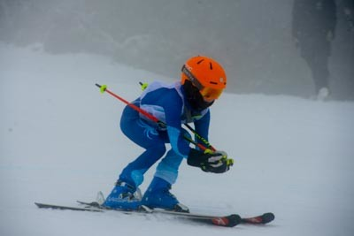 Division 5 Boys Alpine GS Action Shots