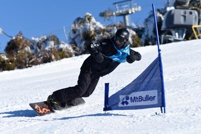 Division 1 Boys Snowboard GS