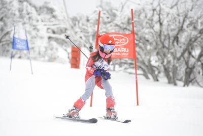 Division 6 Girls Alpine GS Action Shots