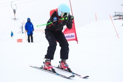Division 4 Girls Ski Cross Final