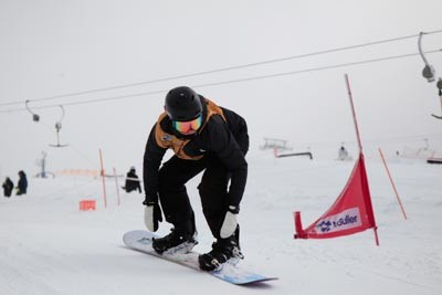 Division 3 Boys Snowboard Cross