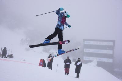 Division 2 Girls Moguls