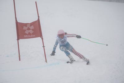 Division 3 Girls Alpine GS Action Shots