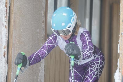 Division 3 Girls Alpine GS Gate Shots