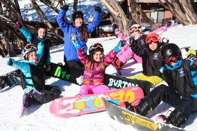 Snowboard Race Portraits Bourke St