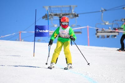 Ski School Race Day Action