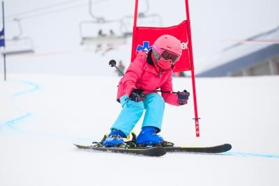 Ski School Race Day – Action Shots