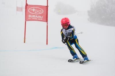 Alpine GS Div 5 Girls Race Shots