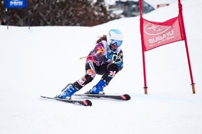 Alpine GS Division 3 Girls Race Shots
