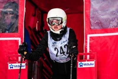 Alpine GS Div 3 Girls Gate Shots