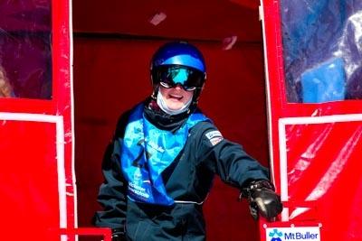 Snowboard GS Division 1 Girls – Gate Shots