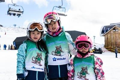 Ski School Race, Portraits