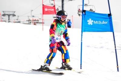 Ski School Race, Action Shots
