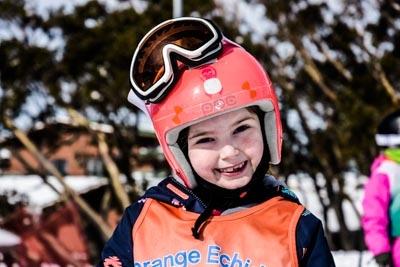 Ski School Race – Portrait