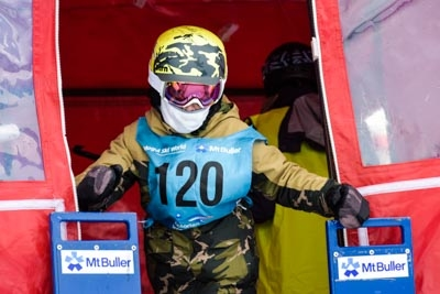 Division 5 & 4 Boys Snowboard GS – Gate Shots
