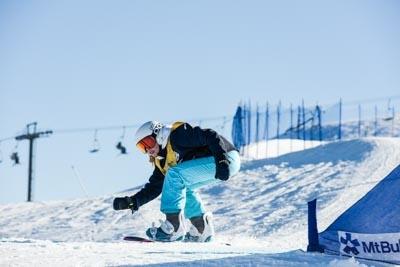 Division 2 Girls Snowboard Cross Qualifier