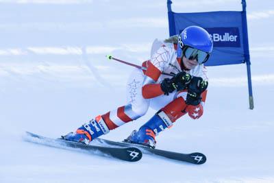 Div 1 Alpine GS Girls Race photos