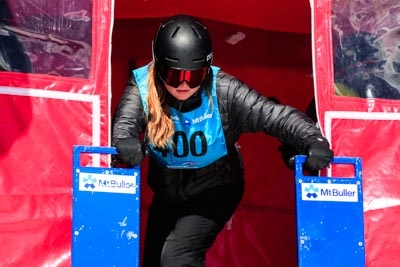 Div 2 Girls Snowboard GS – Gate Shots