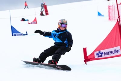 Division 5 Boys Snowboard GS – Action Shots