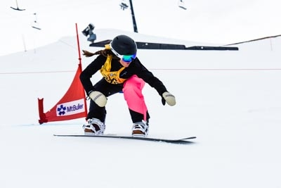 Division 2 Girls Snowboard Cross Qualifier