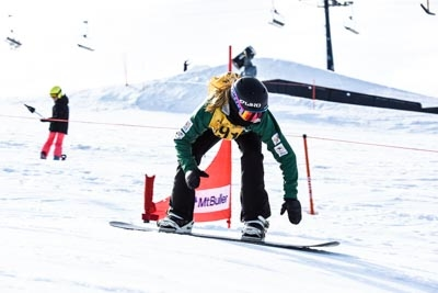 Division 2 Girls Snowboard Cross Final