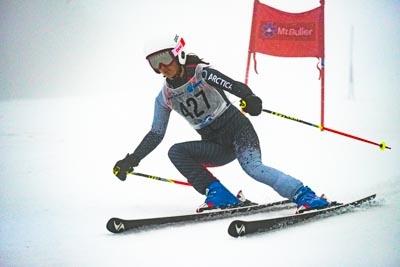 Division 3 Girls Alpine GS – Race shots