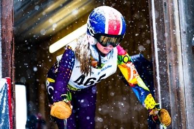 Division 3 Girls Alpine GS – Gate shots