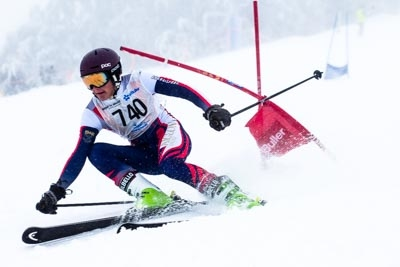 Division 1 Boys Alpine GS – Race Shots