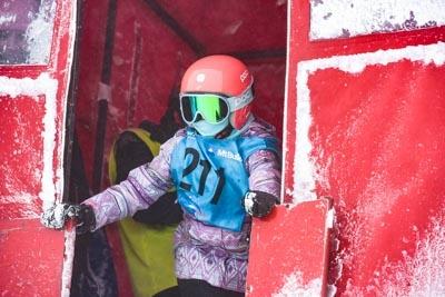 Division 3 Girls Snowboard GS – Gate Shots