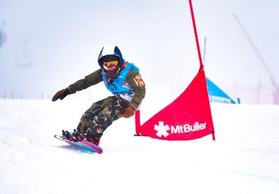 Division 4 Boys Snowboard GS – Race Shots