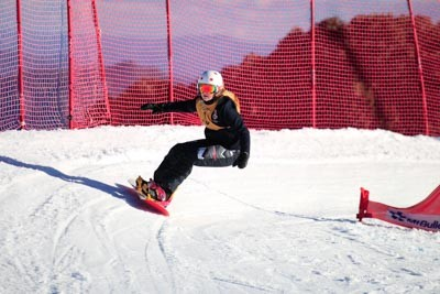 Division 2 Girls Snowboard Cross