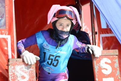 Division 3 Girls Snowboard GS Gate Shots