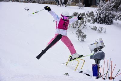 Division 5 Girls Moguls
