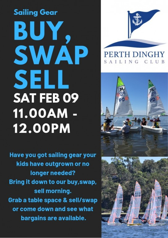 Events - Perth Dinghy Sailing Club
