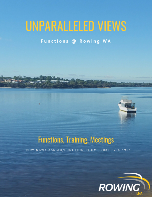 Function Bookings - Rowing WA - revolutioniseSPORT