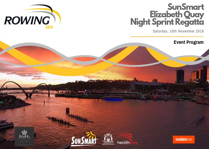 regatta event programs rowing wa revolutionisesport